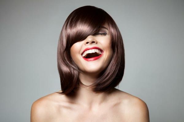 Frisuren für schmale Gesichter Haartrends 2021