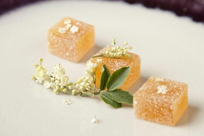 Holunderblüten Rezept mit zitrone konfekt