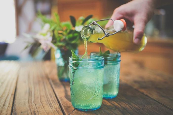 Holunderblüten Rezept sirup flasche konzentrat