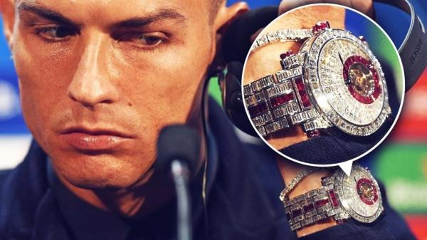 Luxusuhren Cristiano Ronaldo Frank Muller