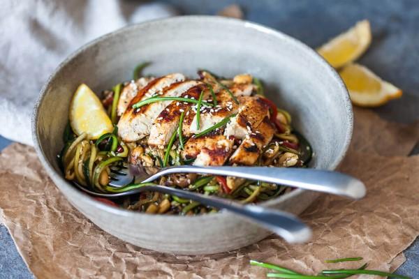 Mit gesundem Essen am Abend leichter abnehmen low carb rezept ideen