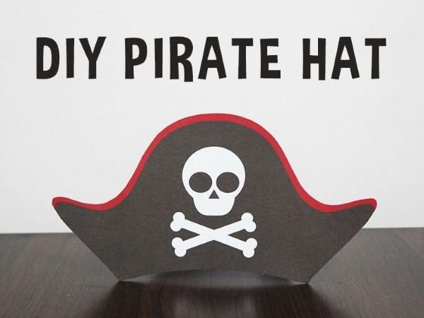 Piratenhut basteln mit Kindern – coole Ideen für Ihre nächste Kostümparty bastelideen diy anleitung