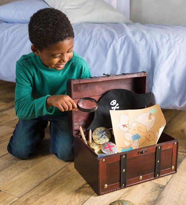Schatzkarte basteln – kreative Ideen für Ihre nächste Piratenparty piratenschatz kinder spiel