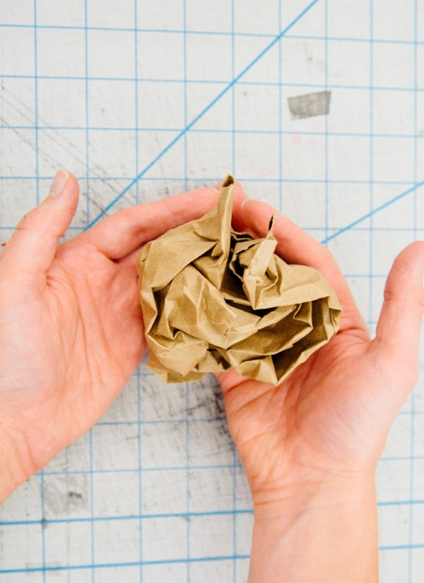 Schatzkarte basteln – kreative Ideen für Ihre nächste Piratenparty zerknittern papier anleitung diy