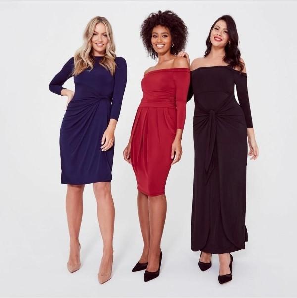 Schlankmachende festliche Kleider – wie optische Täuschungen Sie schlanker machen können kleider mode ideen
