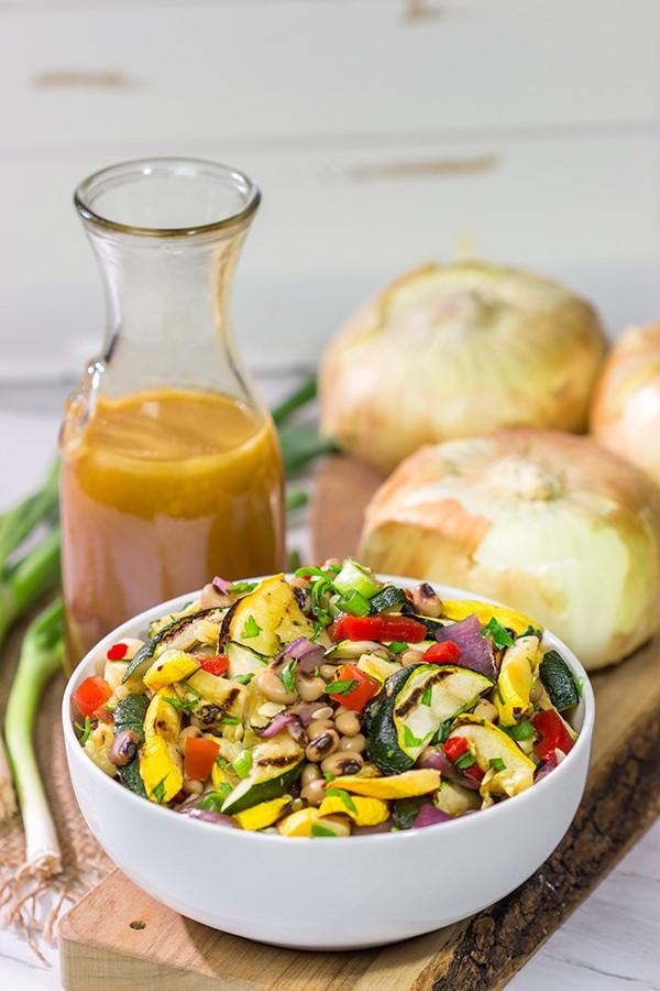 Sommerliche Salate zum Grillen und Genießen – köstliche und gesunde Rezeptideen bohnen und gemüse salat