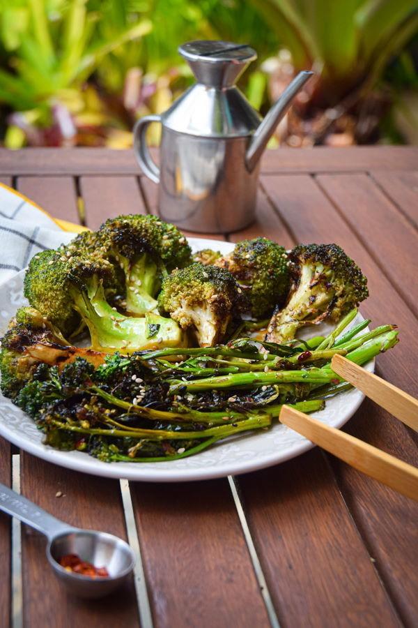 Sommerliche Salate zum Grillen und Genießen – köstliche und gesunde Rezeptideen broccoli grillen richtig