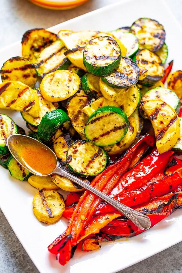 Sommerliche Salate zum Grillen und Genießen – köstliche und gesunde Rezeptideen gemüse grillen salate