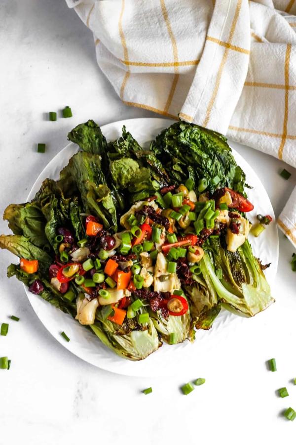 Sommerliche Salate zum Grillen und Genießen – köstliche und gesunde Rezeptideen salat grillen kohl rezept