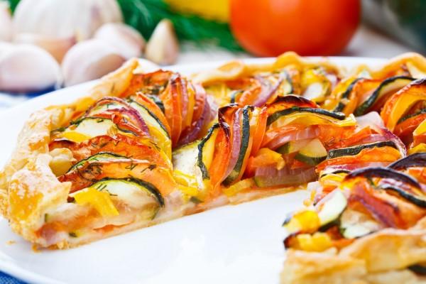 Sommerliches Ratatouille Rezept wie aus dem Pixar Film gemüse pizza vegan
