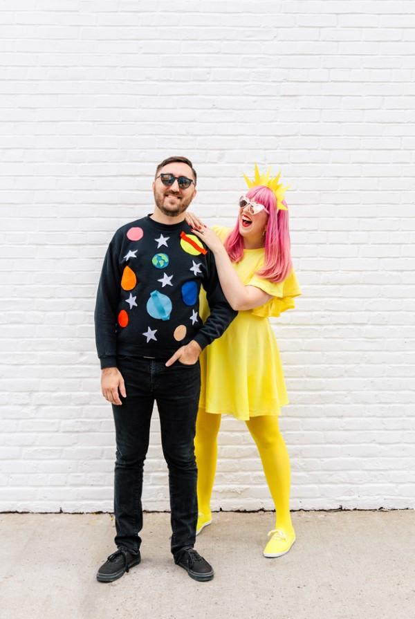 Sonnensystem basteln – kinderleichte Ideen, Anleitung und Wissenswertes über die Planeten halloween fasching kostüm karneval