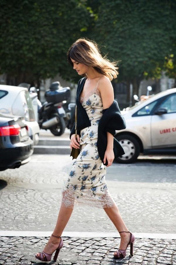 Spaghettiträger Kleid – so tragen Sie dieses trendige Sommerkleid richtig elegante looks für die stadt