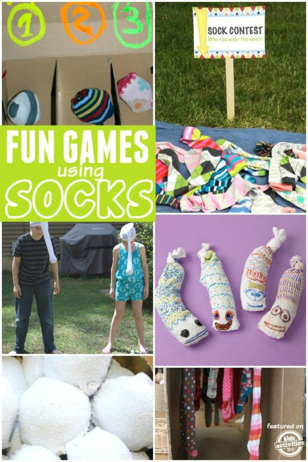 Spielzeug basteln mit Socken Bastelideen