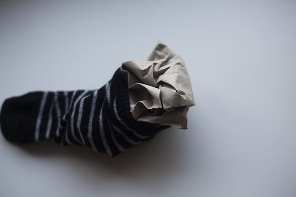 Spielzeug mit Socken basteln Katzenspielzeug Bastelideen