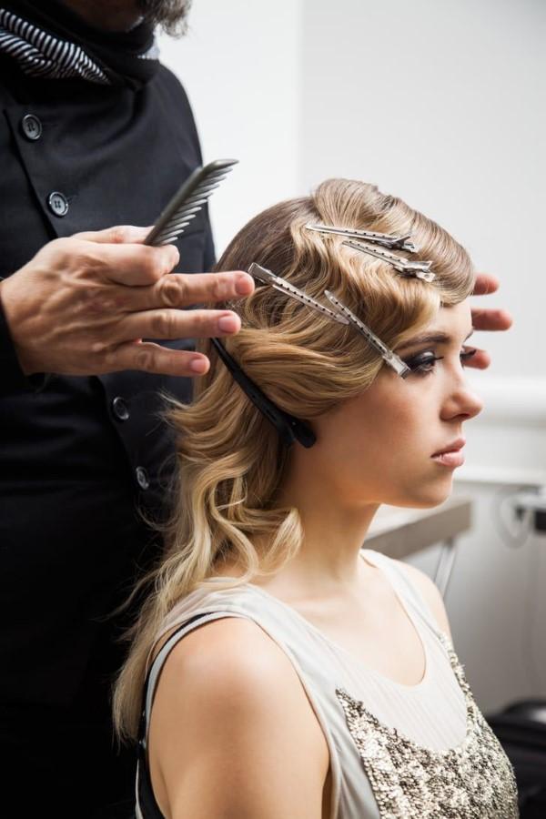 Wasserwelle Frisur – Frisurentrends aus den 20er Jahren sind immer noch aktuell friseur training