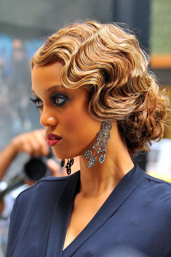 Wasserwelle Frisur – Frisurentrends aus den 20er Jahren sind immer noch aktuell schöne frisuren aus den 30er