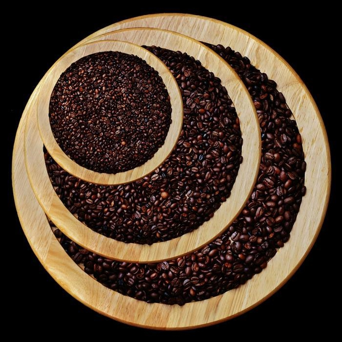 basteln mit kaffeebohnen kafee fach