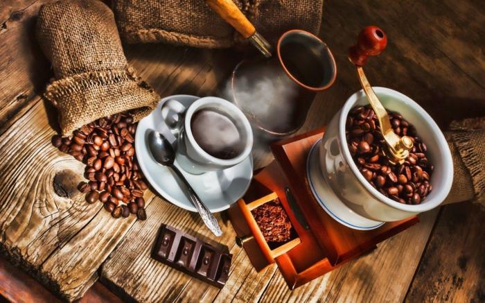 basteln mit kaffeebohnen stillleben kaffeladen