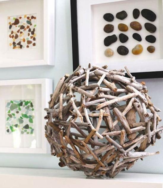 deko selbermachen bastelideen für erwachsene aus treibholz