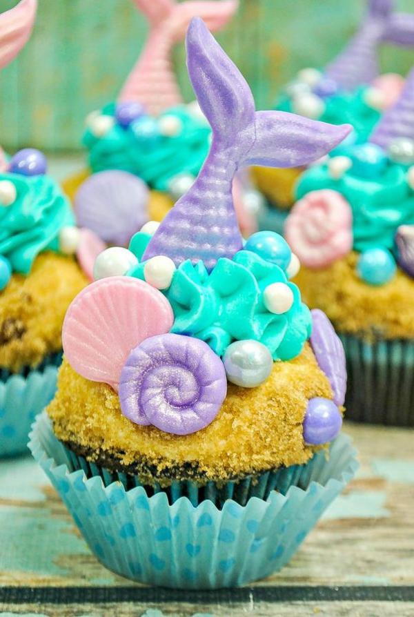 fabelhafte muffins meerjungfrau party