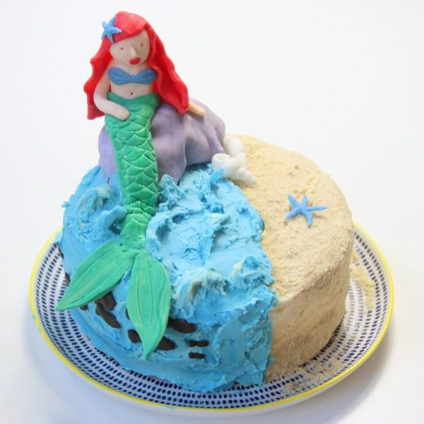 fondant meerjungfrau torte zubereiten