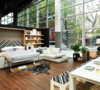 Kleine Wohnung einrichten- 33 platzsparende Tipps und schlaue Einrichtungsbeispiele