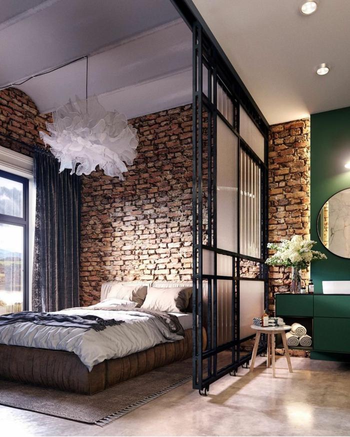 kleine wohnung einrichten einrichtungsbeispiele einzimmerwohnung schlafzimmer
