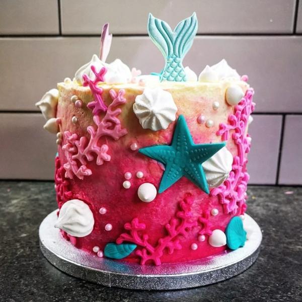 kreative meerjungfrau torte geburtstag