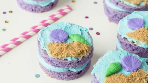 leckere meerjungfrau muffins zum geburtsag rezept