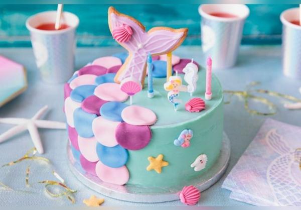 meerjungfrau torte kindergeburtstag rezept idee