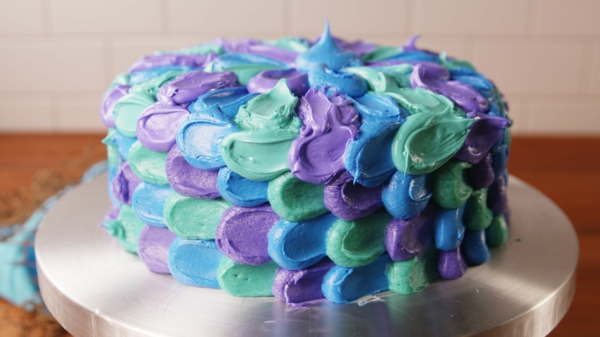meerjungfrau torte mit sahne rezept