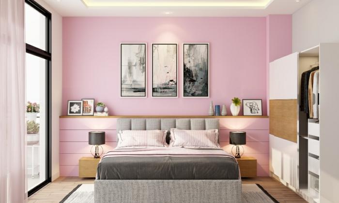 rosatöne schlafzimmer