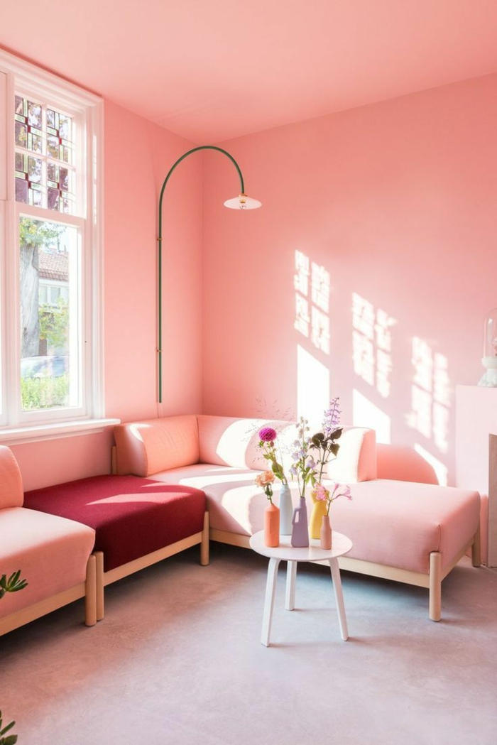 rosatöne wandfarbe hell