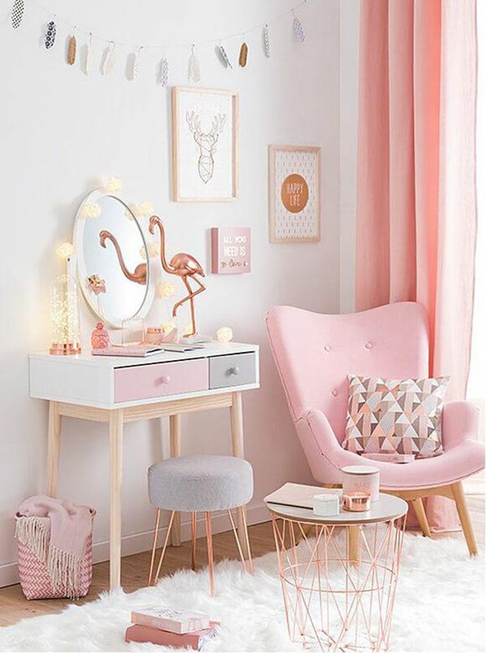 rosatöne wandfarbe zartes rosa ballerina