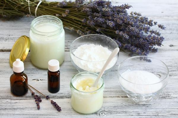 umweltfreundliches deo selber machen lavendel creme