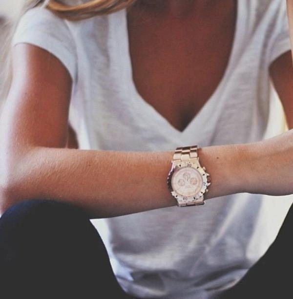 Armbanduhr tragen Damen Armbanduhr Scmuckstück