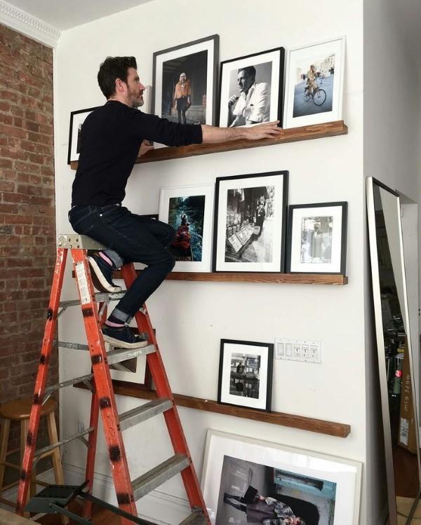 Bilderleiste dekorieren – Ideen und Tipps für eine kreative Wandgestaltung fotoleiste richtig anordnen