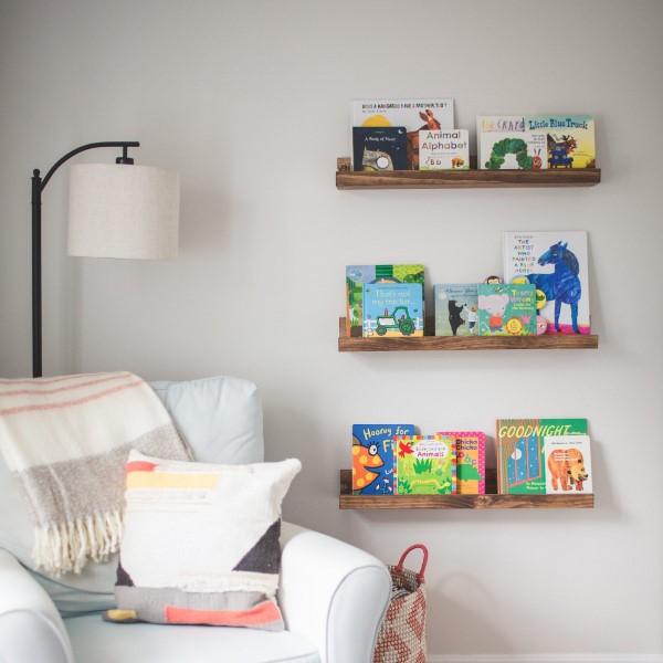 Bilderleiste dekorieren – Ideen und Tipps für eine kreative Wandgestaltung kinderzimmer leseecke ideen