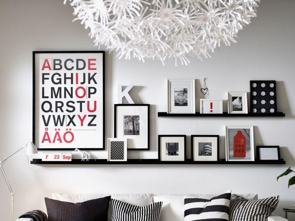 Bilderleiste dekorieren – Ideen und Tipps für eine kreative Wandgestaltung modern fokuspunkt zeitgenössisch