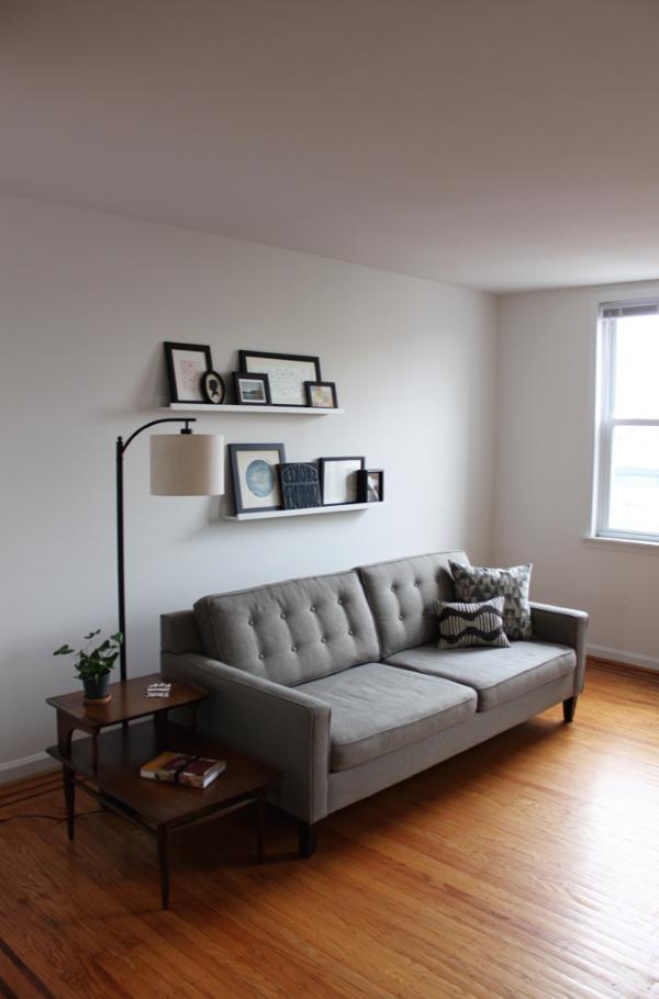 Bilderleiste dekorieren – Ideen und Tipps für eine kreative Wandgestaltung wohnzimmer deko ideen stilvoll modern