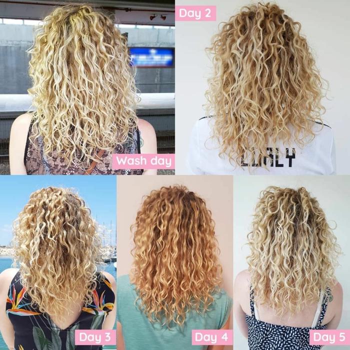 Curly Girl methode produkte nach dauer
