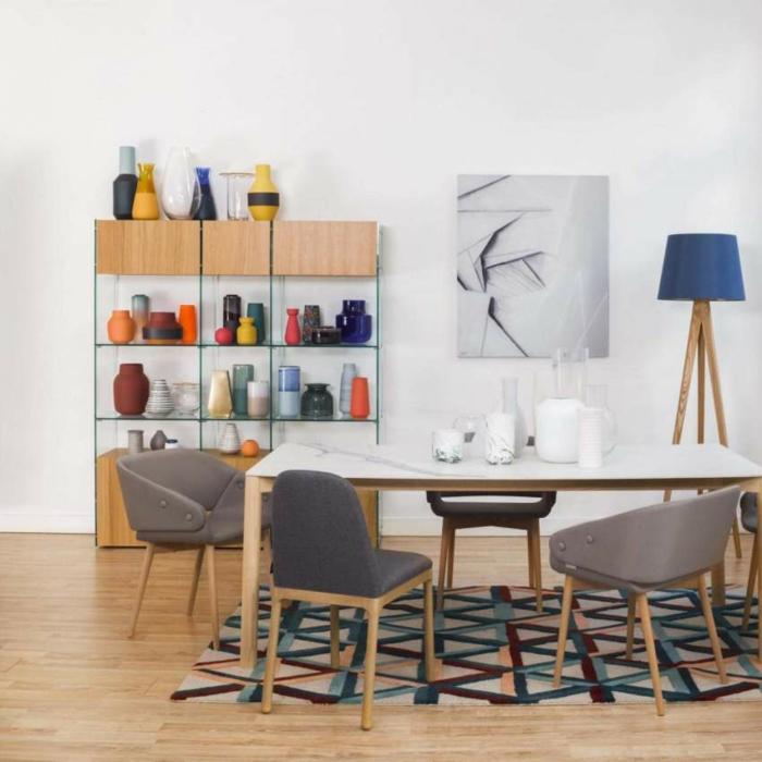 Designer Regale Wohnzimmer stahl merlyn