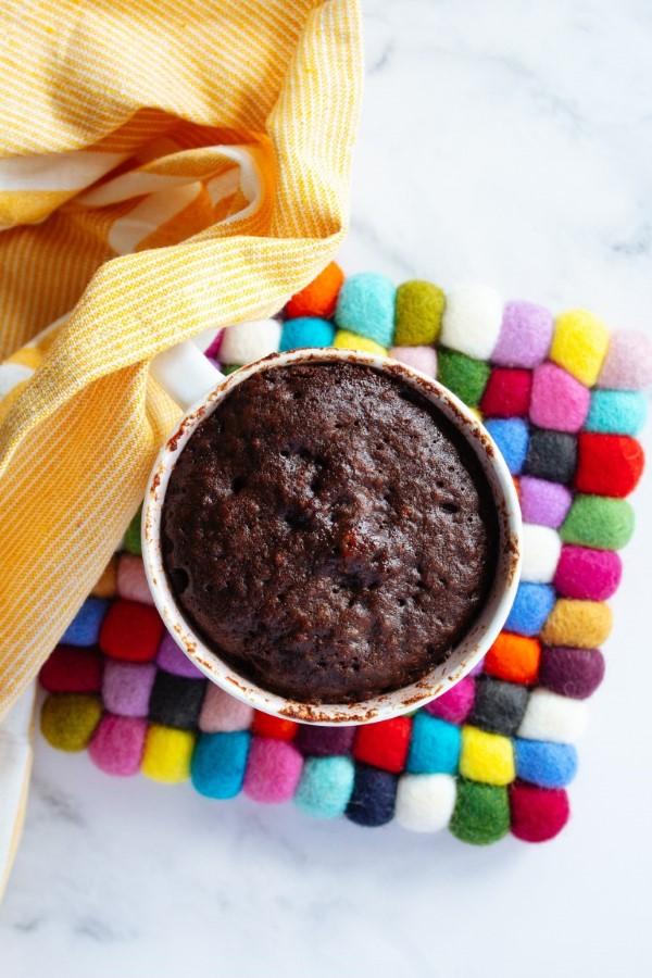Einfache, schnelle und gesunde Tassenkuchen Rezept Ideen aus der Mikrowelle schokokuchen saftig rezept