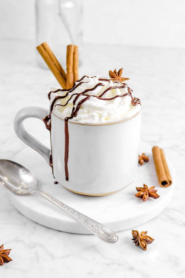 Einfache, schnelle und gesunde Tassenkuchen Rezept Ideen aus der Mikrowelle zimt kuchen weihnachten