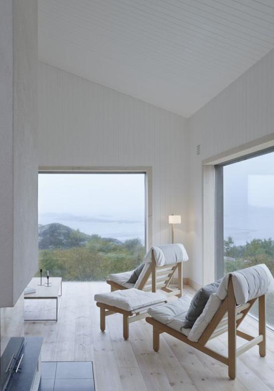 Helles Holz im Interieur Graunuance All-Over-Holz-Look steht momentan hoch im Trend