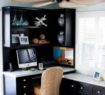 Home Office maritim einrichten und in einer Urlaubsatmosphäre arbeiten
