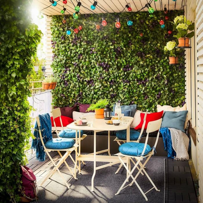 Kleiner Balkon Ideen selber machen diy ideen upcycling ideen bewachsen