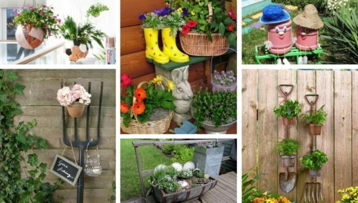 Kleiner Balkon Ideen selber machen diy ideen upcycling ideen deko ideen