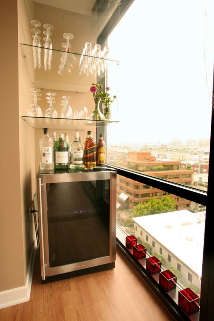 Kleiner Balkon Ideen selber machen diy ideen upcycling ideen farbgestaltung bar