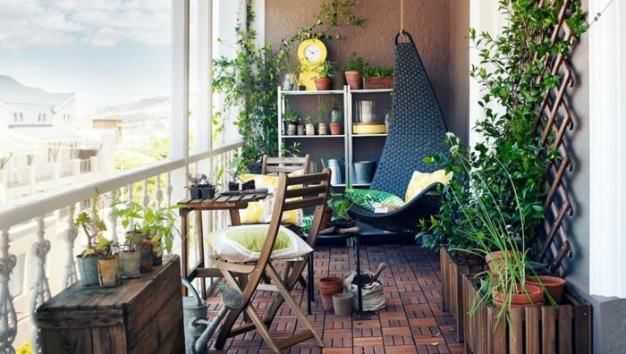 Kleiner Balkon Ideen selber machen diy ideen upcycling ideen fine